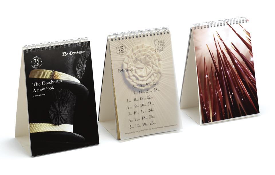 Hotel Calendar Design : Prh design graphic designer gloucester the dorchester